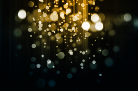 gala: Gold christmas lights background