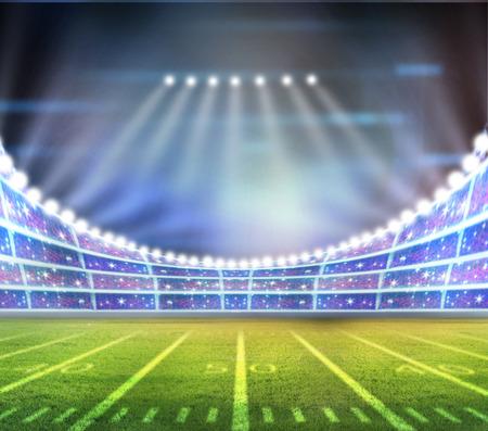 hockey sobre cesped: luz del estadio