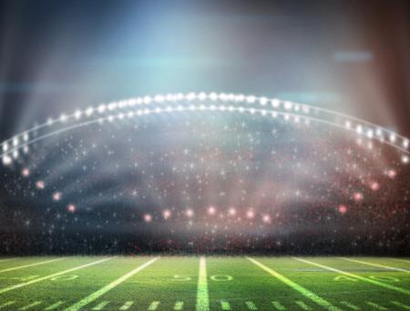 gradas estadio: luz del estadio