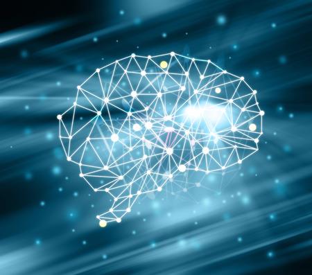 Gehirn Impulse. Standard-Bild - 37920122