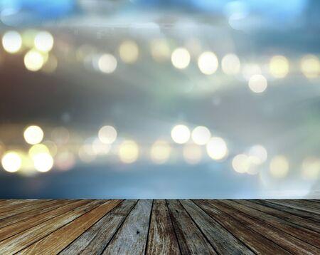 open air: concert spot lighting over dark background