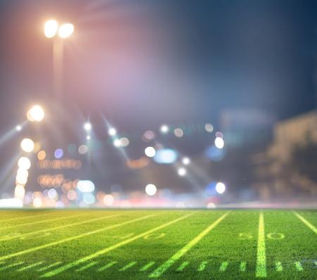 american football stadium 3D rendering.