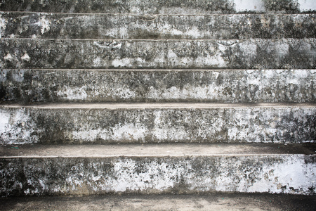 Old gray step ladder walk up the hill gray bright view enticing to follow Banco de Imagens