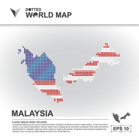 carte, asean, illustration, point, fond, pointillé, asie, du sud, pays, vecteur, conception, communauté, asiatique, moderne, blanc, graphique, fond, monde, conception, Voyage, art, infographie, géographie, concept, résumé, points, affaires, symbole, la Malaisie