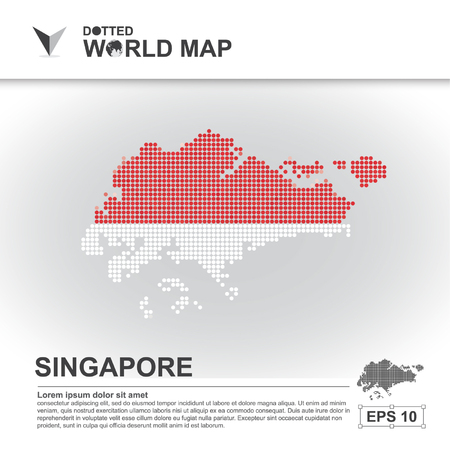 asean: map, asean, illustration, dot, background, dotted, asia, southeast, country, vector, design, community, asian, modern, white, graphic,background, world, design, travel,art, infographic,geography, concept, abstract, dots, business, symbol, Singapore