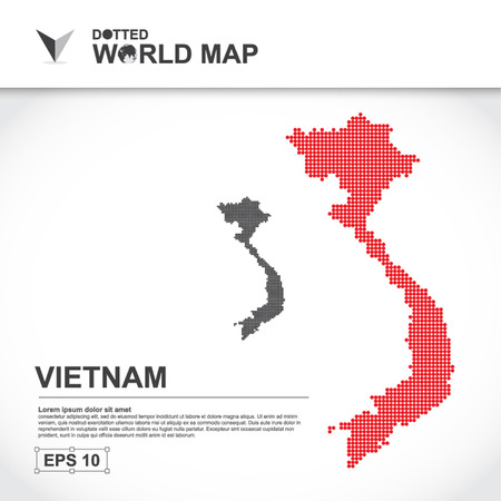 map, asean, illustration, dot, background, dotted, asia, southeast, country, vector, design, community, asian, modern, white, graphic,background, world, design, travel,art, infographic,geography, concept, abstract, dots, business, symbol, Vietnam Фото со стока - 50007973