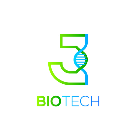 biology lab: Letter J Green and Blue with abstract biotechnology DNA logotype. Medicine, science, laboratory,Technology DNA vector concept Illustration