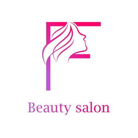 Abstract letter e logobeauty salon logo design template royalty 84733901 abstract letter f logobeauty salon logo design template altavistaventures Images
