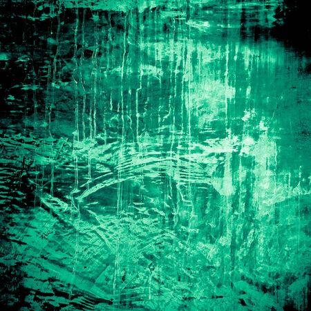 plastered: Designed green grunge plastered wall texture, background.