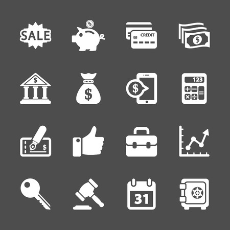 stockmarket chart: finance and business icon set, vector eps10. Illustration