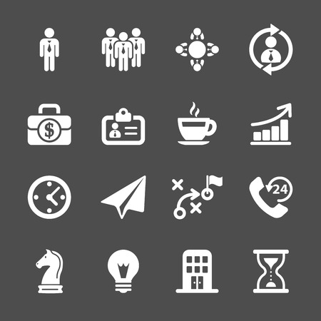 public transfer: business strategy icon set, vector eps10.