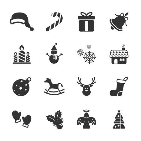 campanas de navidad: Navidad icono conjunto, vector eps10.