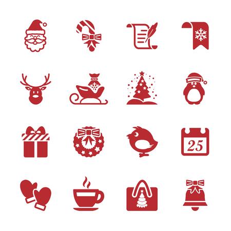 christmas icon set 7, vector eps10. Vector
