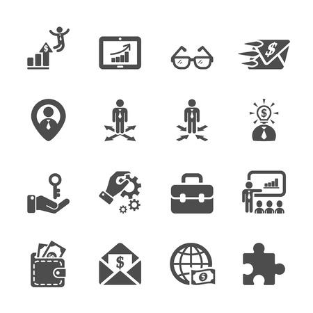 resource management: human resource management icon set 4 Illustration