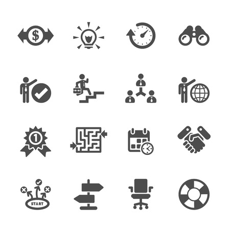 business icon set
