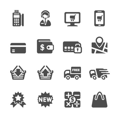 add to shopping cart icon: shopping icon set 8, vector eps10.