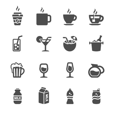 hot water bottle: bakery icon set, chalkboard version, vector