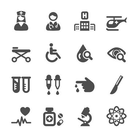medical icon set 2, vector eps10. Stock Illustratie