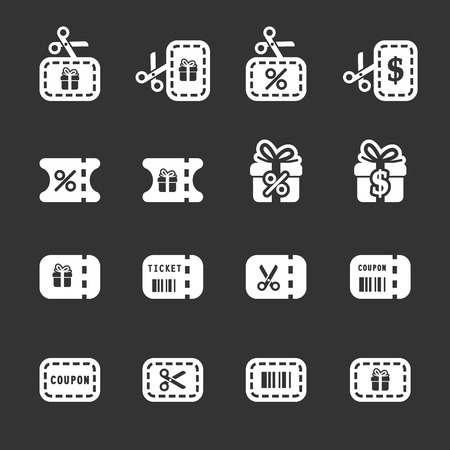 coupon and discount icon