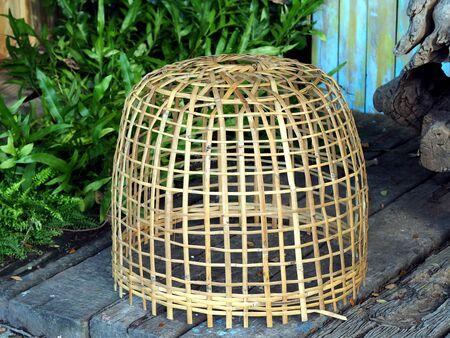 thailand bamboo: Thailand bamboo chicken coop Stock Photo
