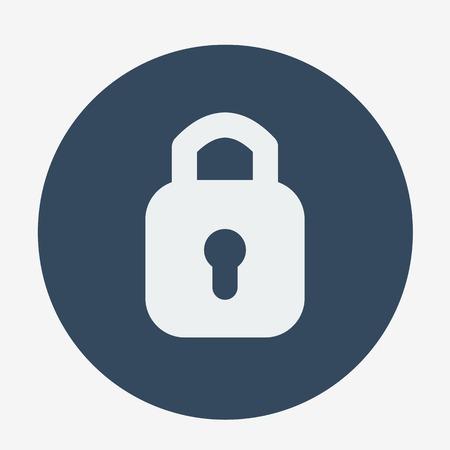 lockout: Single padlock icon.