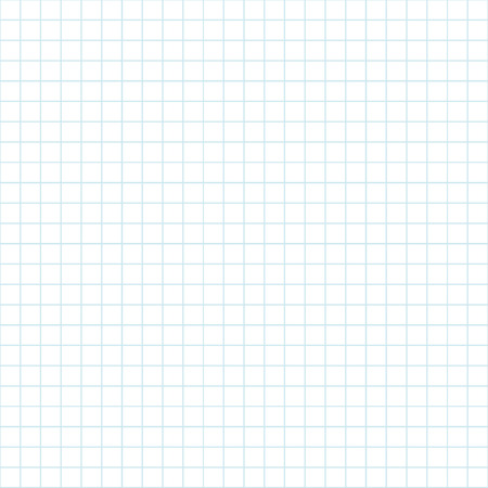 Notebook paper pattern. Seamless pattern school theme. Simple background. Swatch inside. Vector illustration