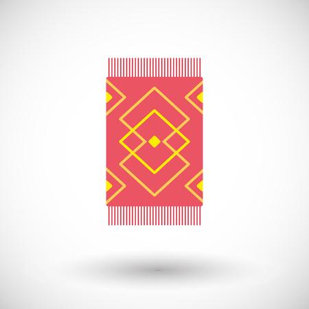 Carpet vector flat icon