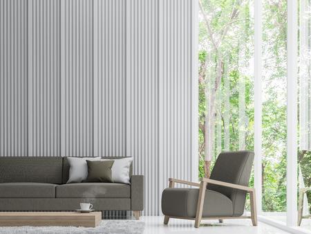 3d Fußboden Wald ~ Moderne ruhigen wohnzimmer im wald modern ruhigen wohnzimmer