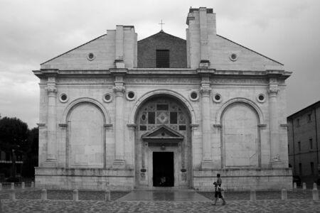 rimini: Malatesta Temple, Rimini, Italy Stock Photo
