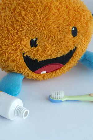 higiene bucal: The daily oral hygiene in children Prevents tooth decay and keeps your mouth healthy