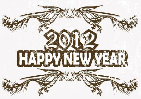 Nowy Rok karty lub kalendarza Zdjęcie Seryjne