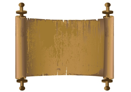 Ancient manuscript vector Illusztráció