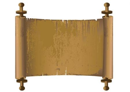 Starożytny manuskrypt wektor Ilustracja