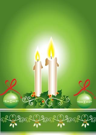 Kartka świąteczna Ilustracja