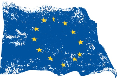 Europa grunge Ilustracja