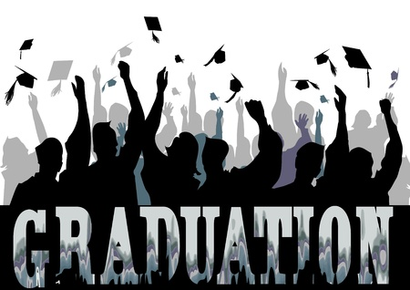 UroczystoÅ›ci Graduation w sylwetce