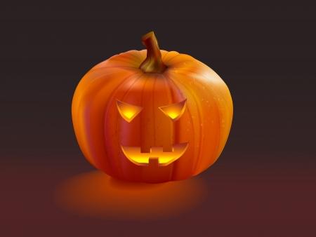 Pumpkin halloween Jack OLantern Illustration