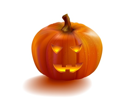 Pumpkin halloween Jack OLantern. Illustration