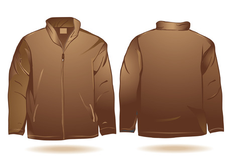 Jacket template Zdjęcie Seryjne - 31850045