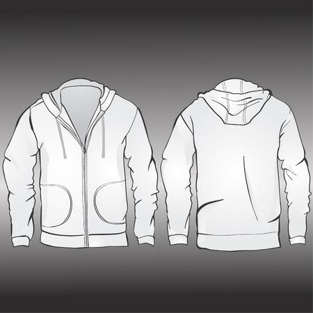 hoodie: Jacket template