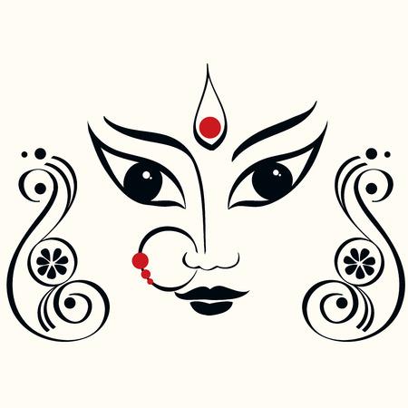 Durga ilustracji