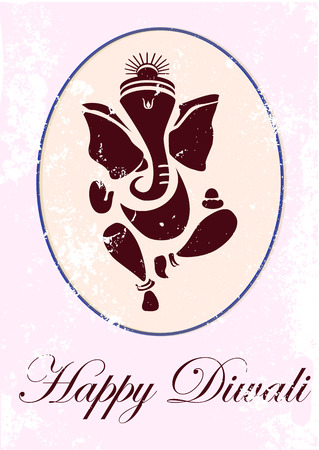 Ganesha or Ganesh illustration