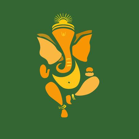 Ganesha or Ganesh illustration Banco de Imagens - 32046211