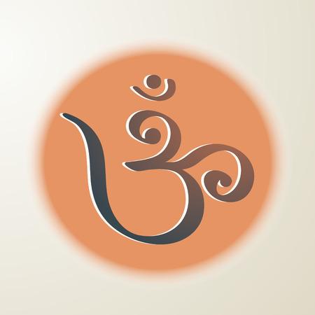 Om symbol Banco de Imagens - 32046213
