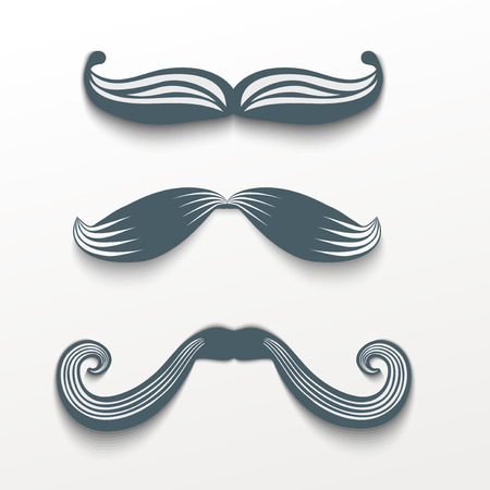 Mustache hipster
