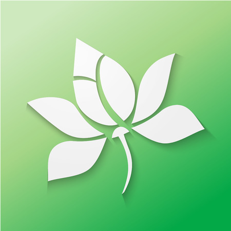 Kwiat lotosu Ilustracja