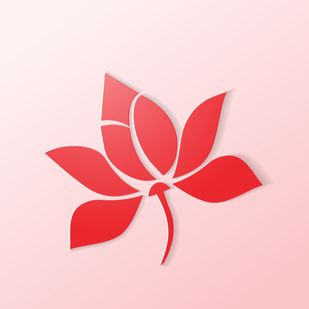 Lotus icon flower