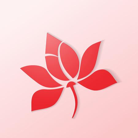 Lotus Symbol Blume Standard-Bild - 32041491