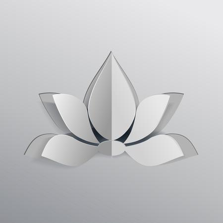 Lotus icon flower Banco de Imagens - 32041493