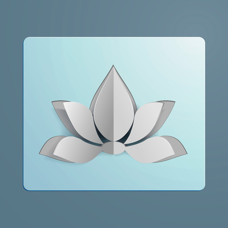 Lotus icon flower